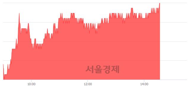 유한진칼, 3.04% 오르며 체결강도 강세 지속(183%)