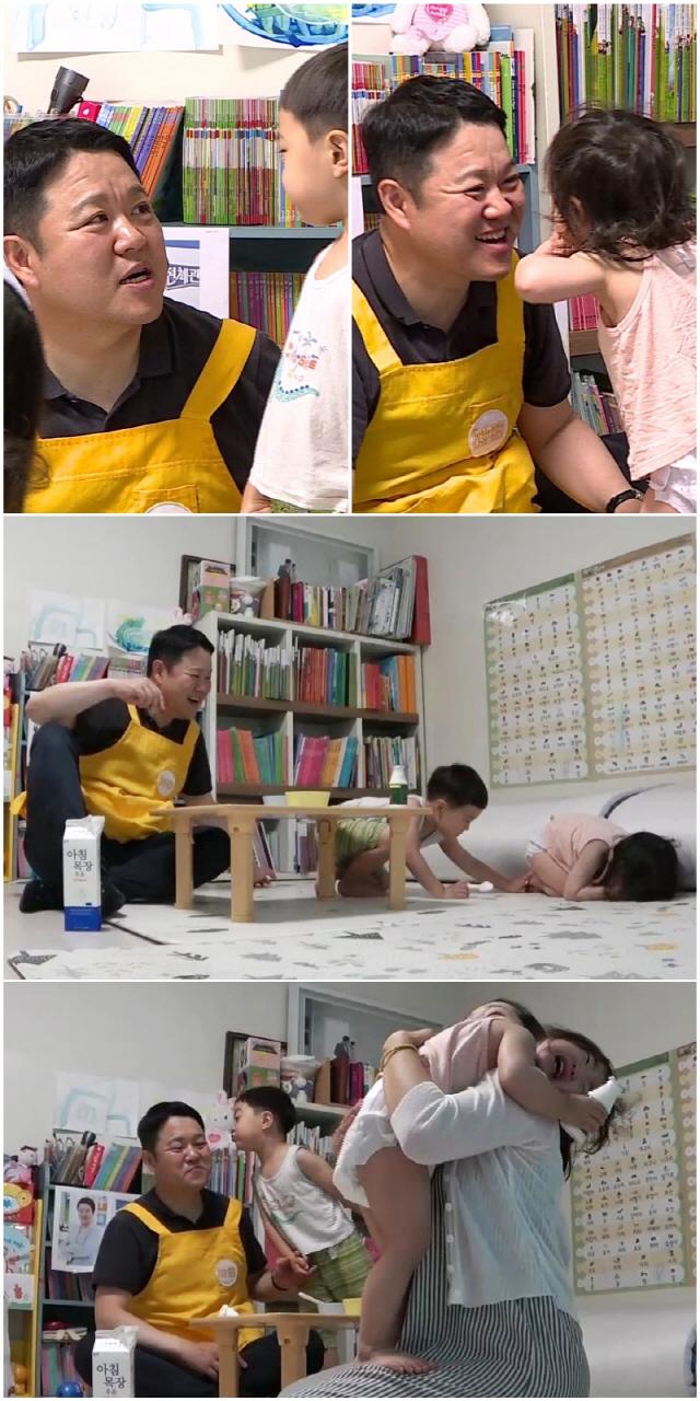 '아이나라' 김구라, 육아 박사에게 배운 울음 뚝 꿀팁은..'전문가시네'