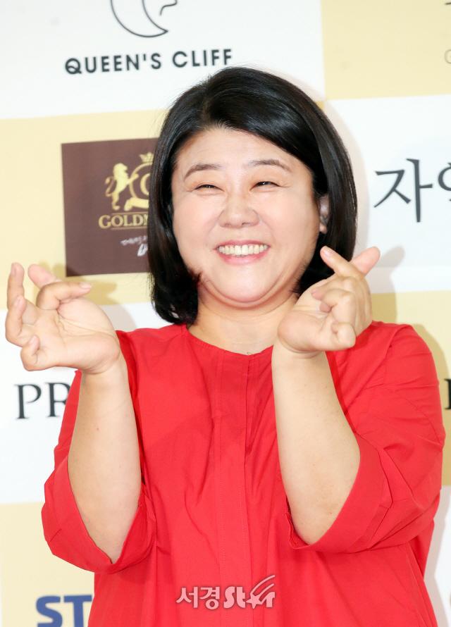 이정은, 하트~ (제24회 춘사영화제)