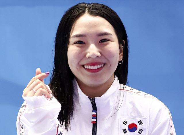 [세계수영]김수지 銅·우하람 4위…희망 쏜 한국다이빙
