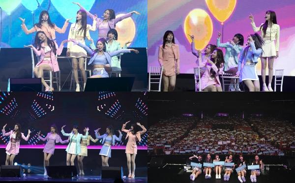 여자친구, 아시아 투어 'GO GO GFRIEND!' 싱가포르 공연 성료
