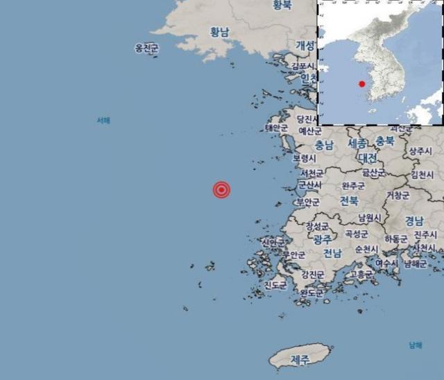 [종합]'규모 3.9' 상주 지진 이어 전북 군산서도 규모 2.0 지진 발생