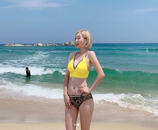 서현숙 '치어리더의 비키니' 이런 섹시美 해수욕장에 정말 있나요?