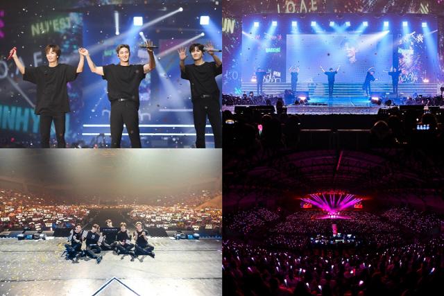 뉴이스트, 해외 투어 'Segno' 태국 방콕 공연 성료..현지 반응 '폭발적'