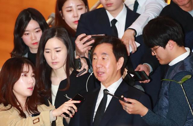 [속보]김성태 의원 'KT 부정채용' 뇌물수수 혐의 기소...직권남용은 무혐의