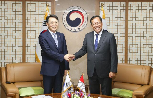 김현준 국세청장, 印尼와 세정 발전방향 논의