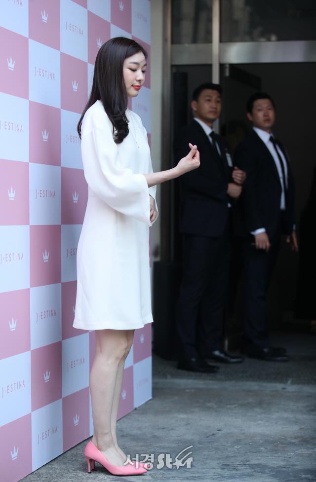김연아, 하트 장착!