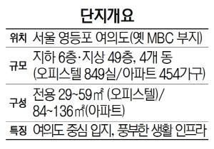 [분양단지 들여다보기] 브라이튼 여의도, 옛 MBC 부지에 조성...풍부한 생활인프라 갖춰