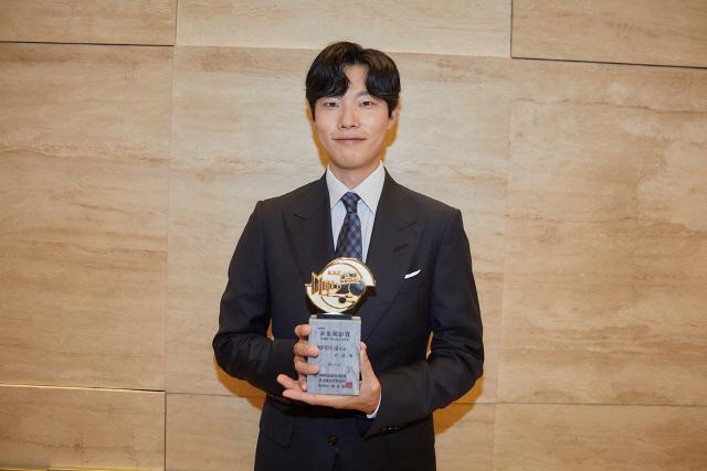 '황금촬영상 시상식' 류준열, 영화 '독전'으로 '인기상' 수상