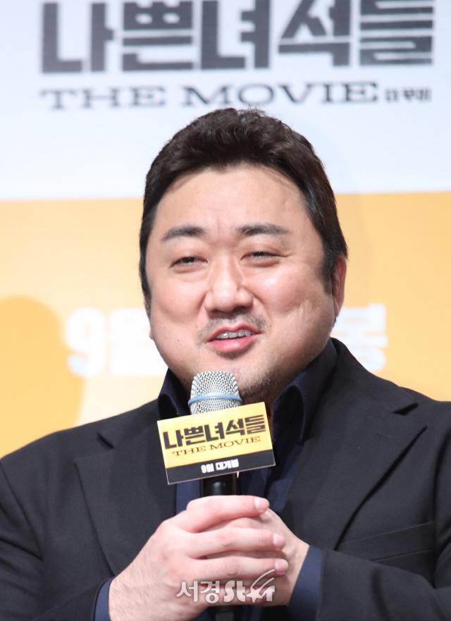 마동석, 美 마블 영화 '이터널스'합류 소감..'저도 깜짝 놀라'