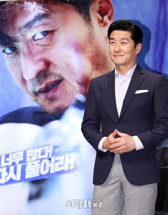 김상중, 훈남의 정석! (나쁜 녀석들 제작보고회)