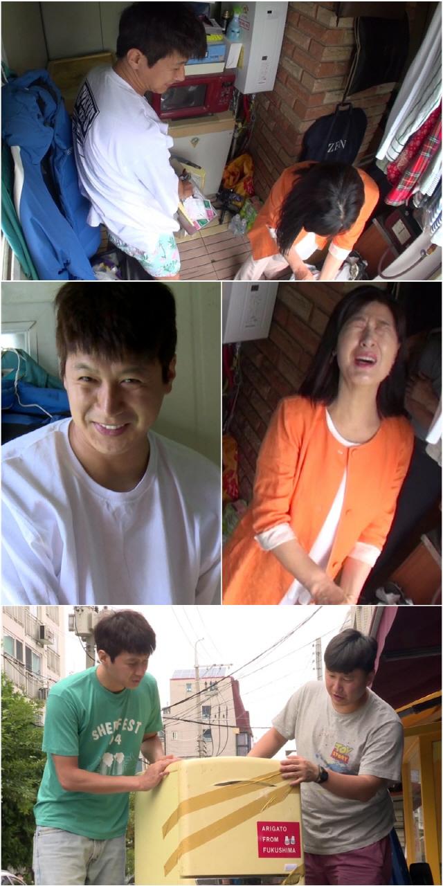 '살림남2' 김승현, 옥탑방 냉장고 안 상태..충격 비주얼에 가족들 혼비백산