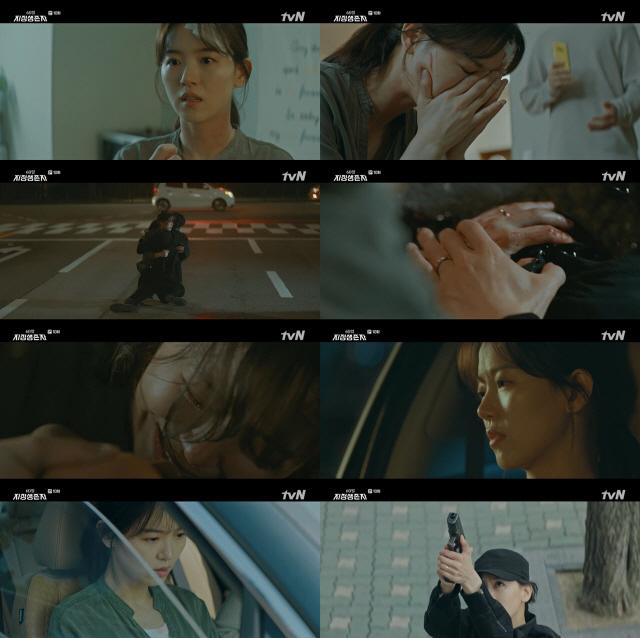 '60일, 지정생존자' 강한나, 절절한 감정연기+걸크러쉬 액션 뽐낸 '열연요원'