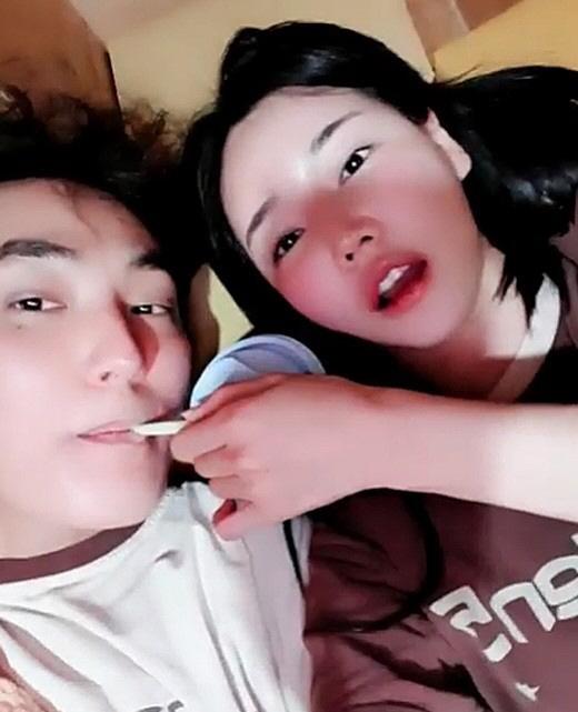 [공식입장]강타·우주안 '입맞춤 영상' 돌연 삭제…'실수로 올려, 끝난 인연'