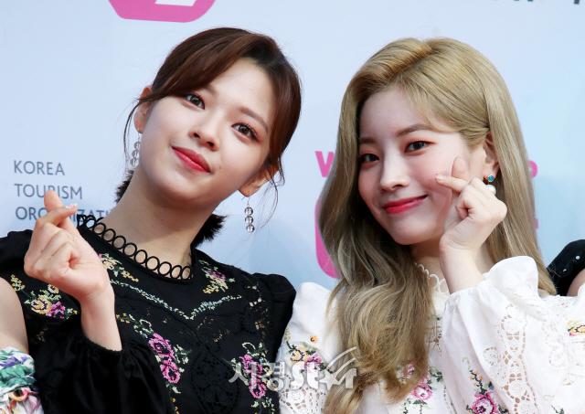 트와이스 정연-다현, 러블리 하트 (2019 MGMA)