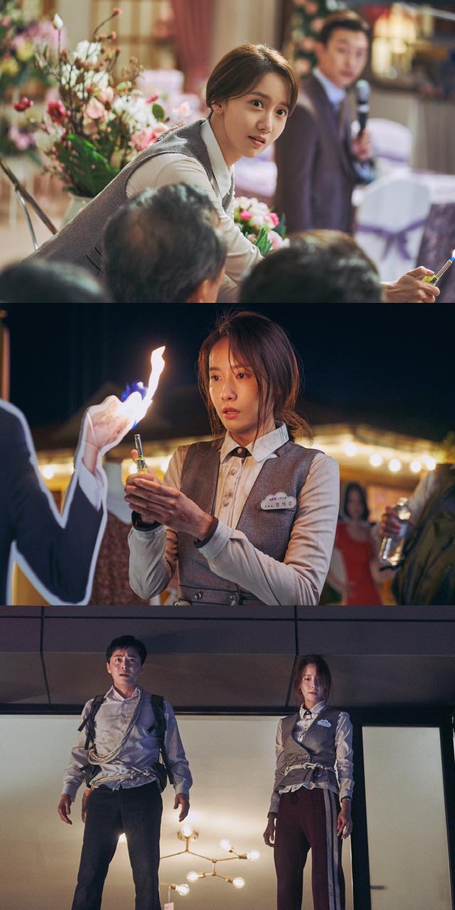 '엑시트' 임윤아, 역대급 짠내 액션으로 스크린 접수 시작..'흥행 돌풍'