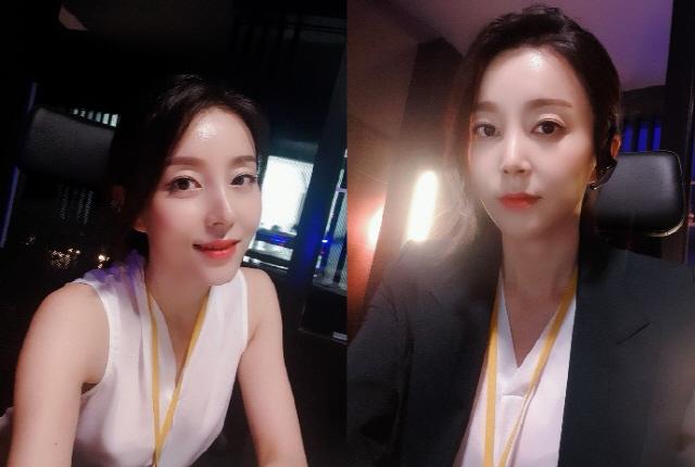 '우아한 가' 박영린, '눈부신 미모' 열일 중 비하인드 컷 공개