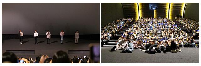 '커런트 워' 화제의 아이돌 CIX의 ONE PICK영화, 팬시사회 성료