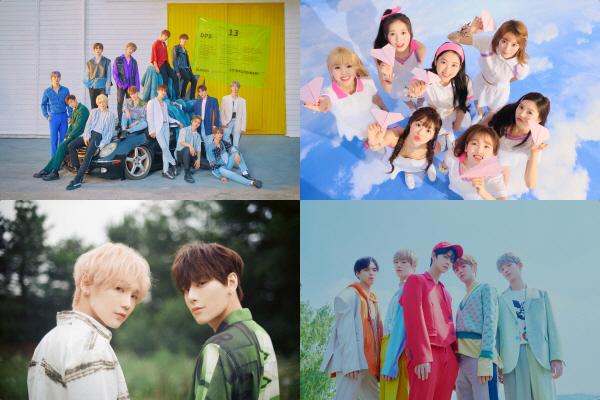 '엠카운트다운' 세븐틴 7개월만의 컴백, 오마이걸·JBJ95 신곡 무대 최초 공개