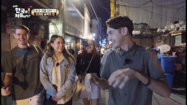 '어서와 한국은 처음이지?' 블레어, 종로 갈매기살 강력 추천..'단체 멘붕'
