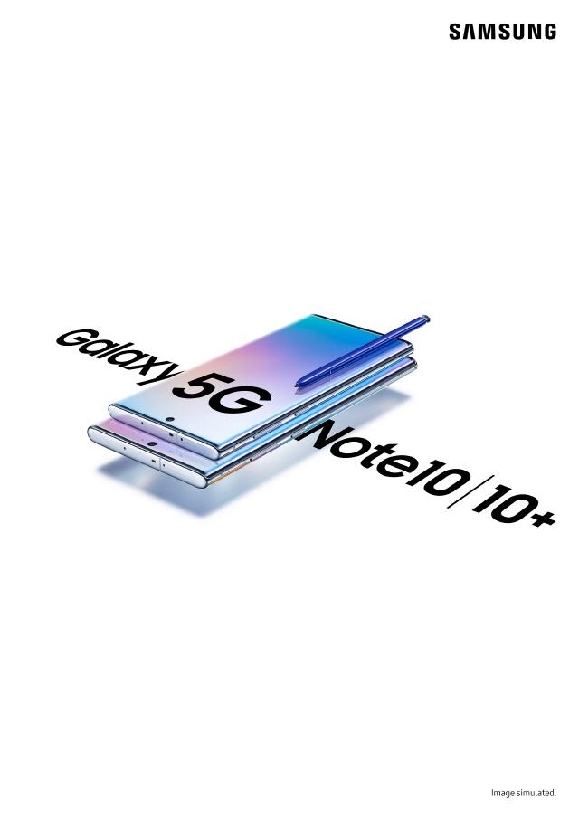 '멋진 디자인, 생동감 있는 화면' 외신 '갤노트10'  호평 쏟아져…9일부터 사전판매