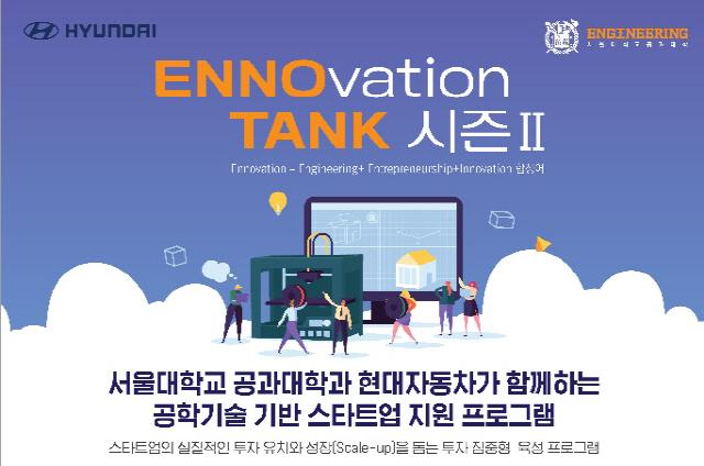 현대차, 엑셀러레이트 지원 프로그램 '에노탱크' 시즌2 개최