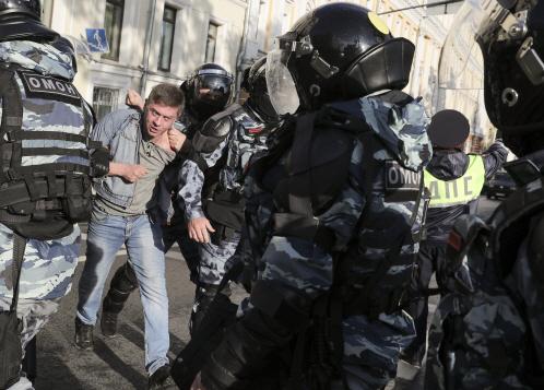 '유튜브가 시위 홍보' 러, 구글에 경고장