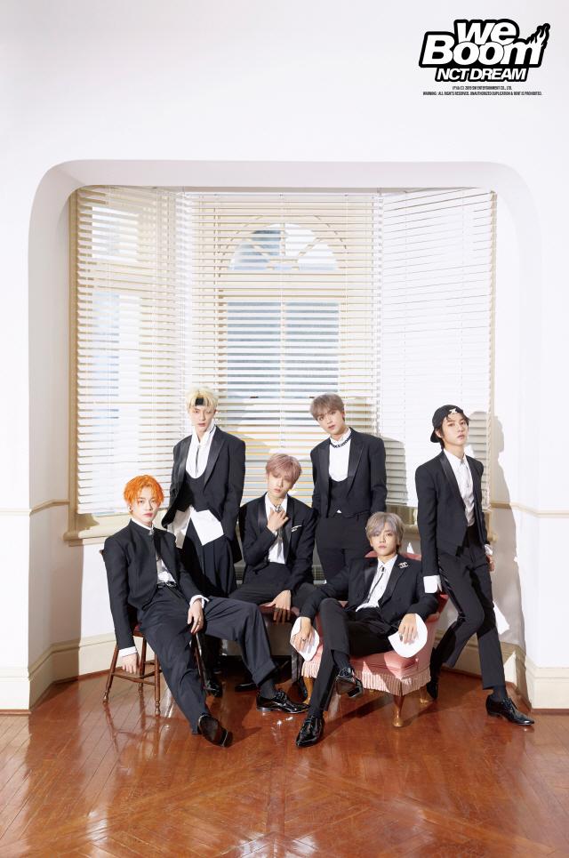NCT DREAM, 세 번째 미니앨범 'We Boom' 주간 음반 차트 1위