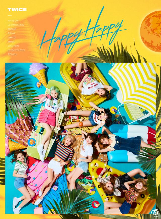 트와이스, 일본 싱글 4집 & 5집 플래티넘 인증..'8연속 기록'
