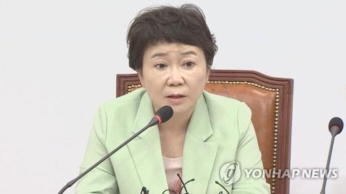정미경 세월호 이어 '한·일 갈등 자작극처럼 보여' 발언에 정치권 '폭풍'