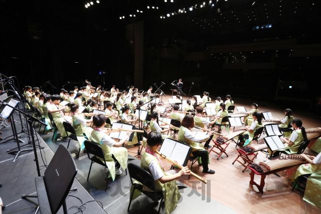 아이들의 손으로 피어나는 '우리 소리'…청소년 국악관현악축제