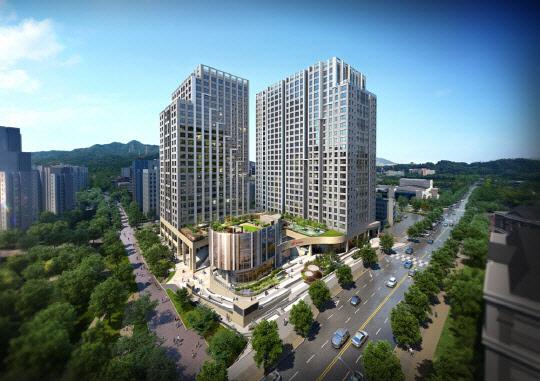 '편리한 교통에 교육환경도 우수'…현대건설 '힐스테이트 과천 중앙' 눈길