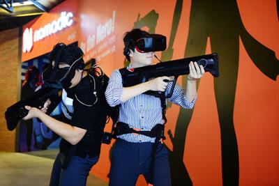 CJ CGV, 신개념 체감 VR '노마딕' 국내 첫 선