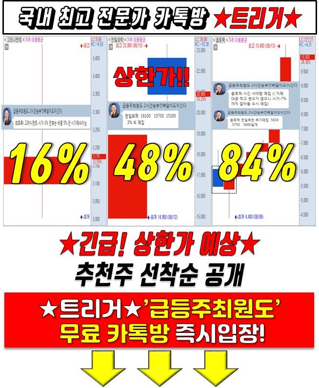 '급등유력' 리스트 선착순 공개