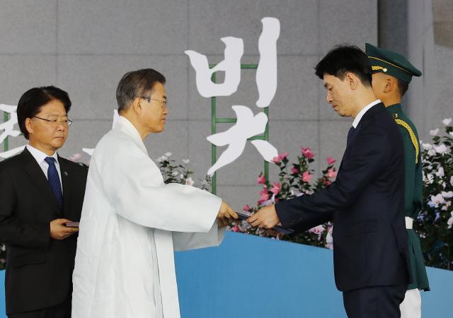광복절 경축식, 15년만에 천안 독립기념관서 개최(종합)