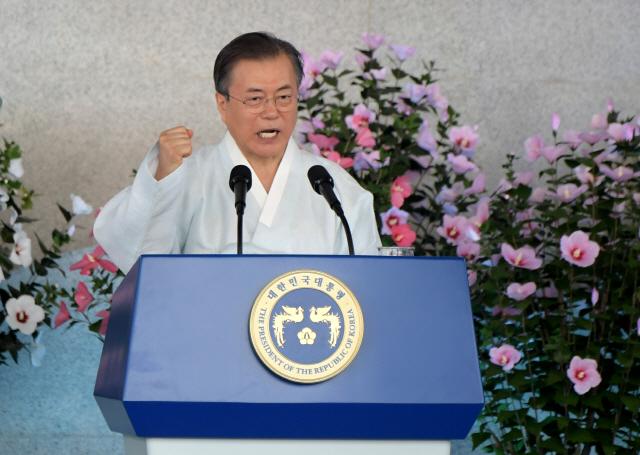 '도쿄올림픽은 공동번영 기회'...文, 反日 대신 미래관계 강조