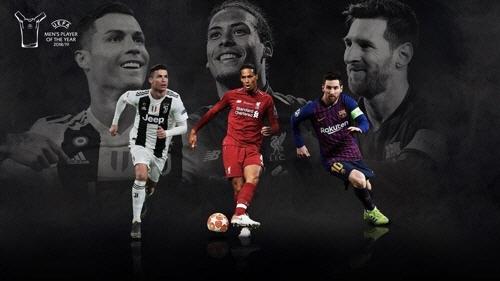 메시냐, 호날두냐... UEFA 올해의 선수는?