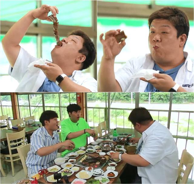 '배틀트립' 유민상, 갈비 한 줄이 '단 한입'..수도권 맛집 도장깨기