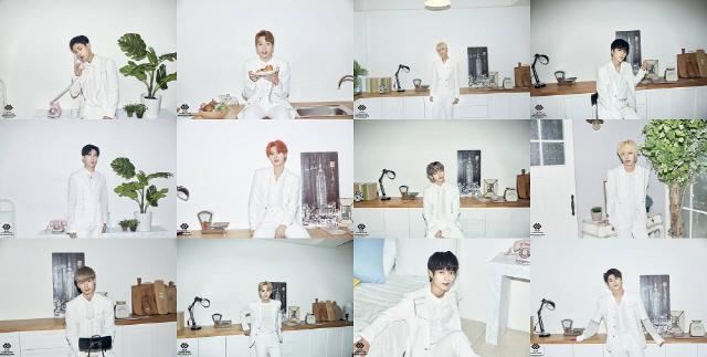 """12인조 보이 그룹 'N.CUS(엔쿠스)', 자켓 사진 공개 """"독보적 비주얼"""""""
