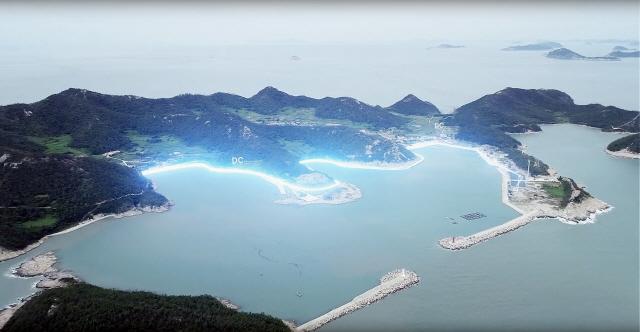 LS산전 '직류 전기섬' 불밝혔다