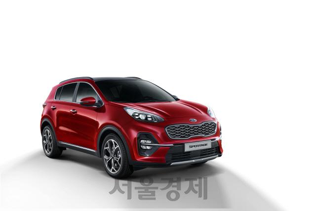 기아차, 상품성 강화 '2020년형 스포티지' 출시…1.6 디젤 2,381만원부터