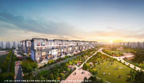 주택의 여유로움과 아파트의 편리함 접목한 '우남퍼스트빌 더 테라스 동탄'