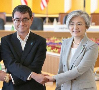 [속보] '한일 외교장관, 베이징서 21일 회담'