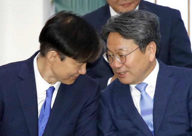 '조국 엄호' 나선 靑…강기정 수석 '사촌·팔촌 인사검증 아냐'