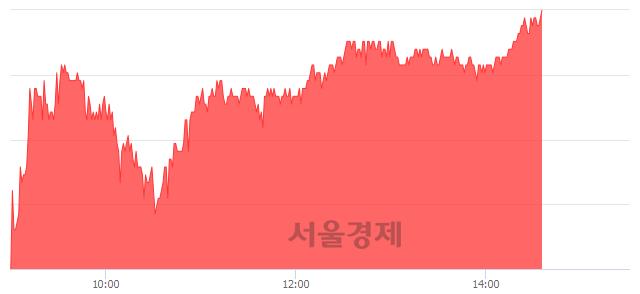 <코>디오, 4.22% 오르며 체결강도 강세 지속(224%)