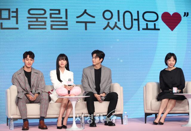 김소현-정가람-송강-이나정 감독, 주역들 (좋아하면 울리는 제작발표회)