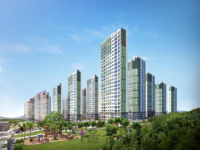 부영주택, '여수 웅천 6,7차 사랑으로' 공공임대 1,400가구 공급