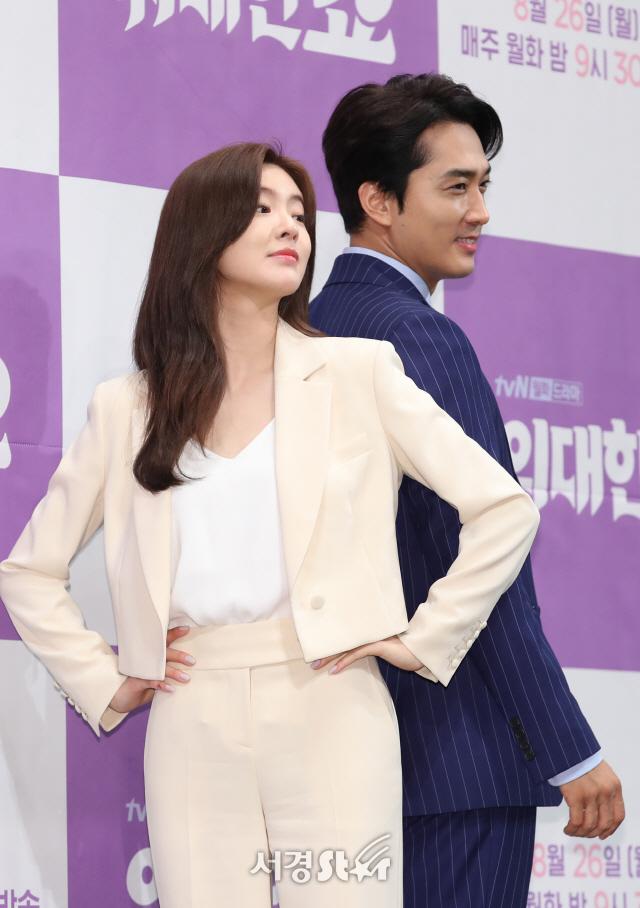 송승헌-이선빈, 위대한 조합 (위대한 쇼 제작발표회)