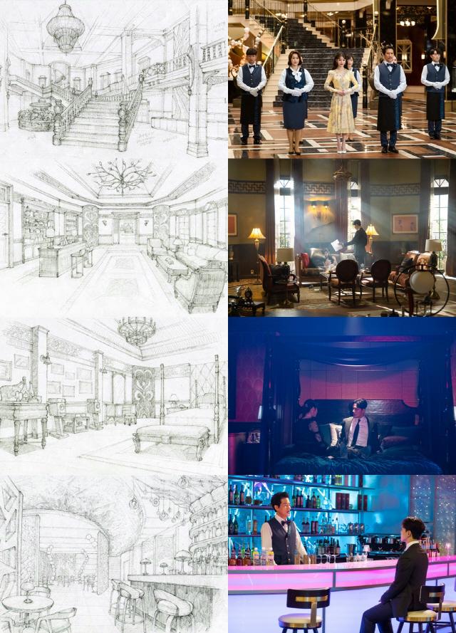 '호텔 델루나' 최기호 미술감독이 밝힌 비밀스러운 공간 셋
