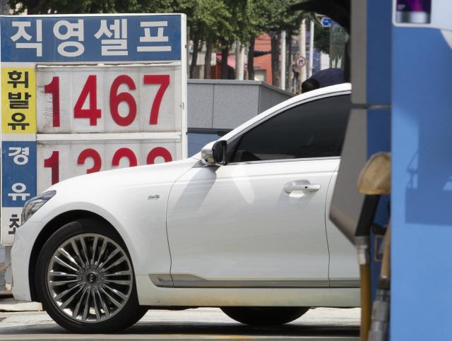 '유류세 인하' 연장 안 한다…내달부터 휘발유 58원·경유 41원 올라